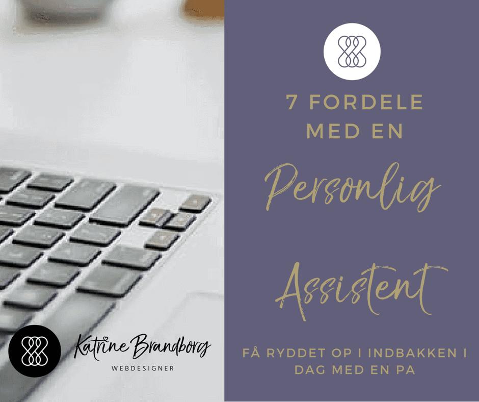personlig assistent, webdesigner, Katrine Brandborg